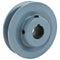 "3.75"" Cast Iron Single Groove Pulley B Belt (5L) Style 7/8"" Shaft"
