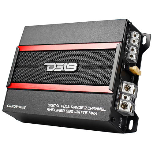 DS18 2 Channel Full Range Digital Amplifier 800 Watts Max Power 2 Ohm CANDY-X2B