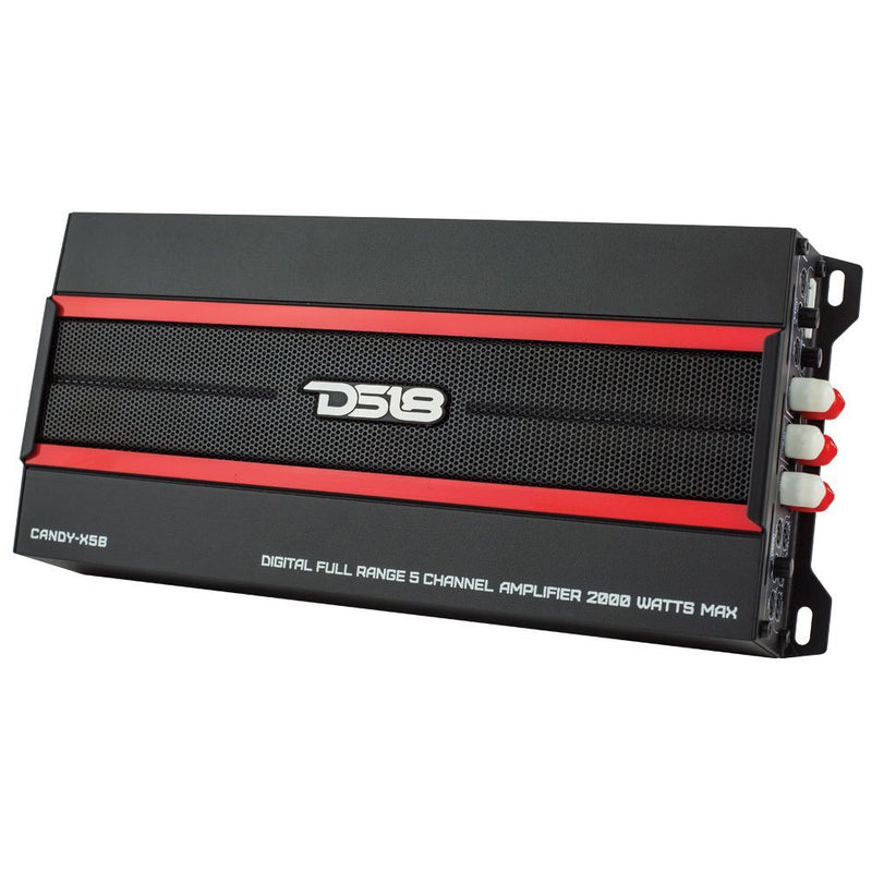 DS18 Candy-X5B 5 Channel Digital Full Range Amplifier 2000 Watts Max Class D