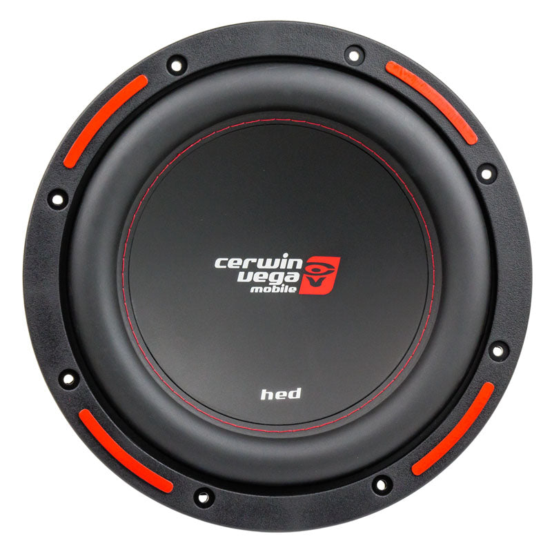 "Cerwin Vega 10"" Subwoofer Dual 4 Ohm 1200W Max Power DVC HED Series CER-H7104D"