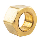 "1/2"" Compression Nut & Ferrule Combo for 1/2"" OD Tube Brass Captive Sleeve Nut"