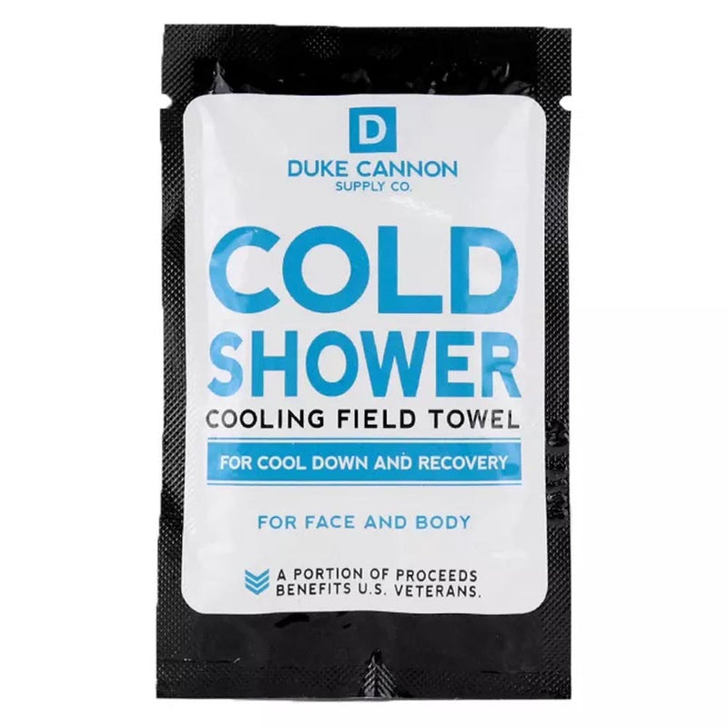 Duke Cannon Cold Shower Individual Field Towel Menthol COLDSHOWERTOWER-Single