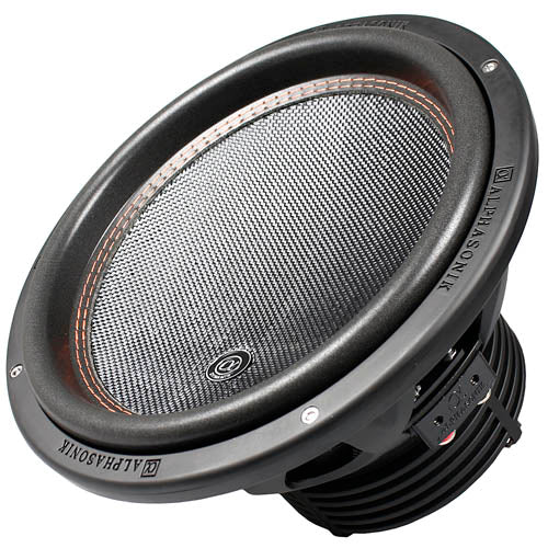 "Alphasonik 12"" Subwoofer 2400 Watts Max Dual 4 Ohm Dynamis Series DSW512 Single"