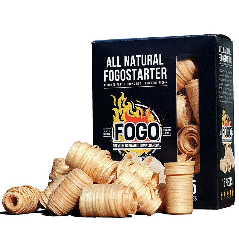 FOGO All Natural Fogostarter Fire Starter Burns Hot Lights Fast Aspen Wood