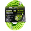 100 ft Flexzilla Pro Electric Extension Power Cord Cable Indoor Outdoor 12 gauge