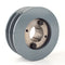 "4.5"" Cast Iron Dual Groove Pulley B Belt (5L) Style with 1-3/8"" Bore H Bushing"