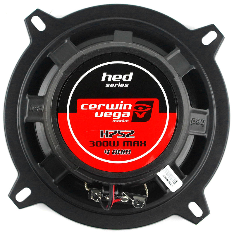 "Cewin Vega 5.25"" 2-Way Coaxial Speaker System 300 Watts Max HED Series H752"