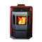 ComfortBilt HP22 Burgundy Pellet Stove with Remote Control 50,000 BTU 2,800 Sq. Ft. Room