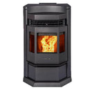 ComfortBilt HP22N Taller Black Pellet Stove with Remote Control 50,000 BTU 2,800 Sq. Ft. Home
