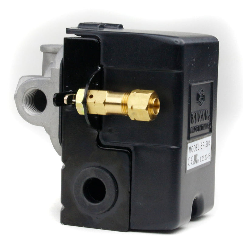 4 Port 25 Amp 105-135 PSI Heavy Duty Amp Pressure Switch