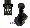 "2"" Industrial Grade Air Compressor Pressure Regulator with 200 PSI Liquid Filled Gauge"