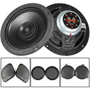 "Memphis Audio 6.5"" Coaxial Speakers Replacement Compatible with Harley Davidson"
