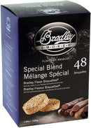 Bradley Smoker 48 Pack Special Blend Smoke Bisquettes Premium Hardwood Chips