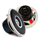 "DS18 6.5"" Coaxial Speaker Set 180 Watts Max Power Full Range 4 Ohm 2 Way System"