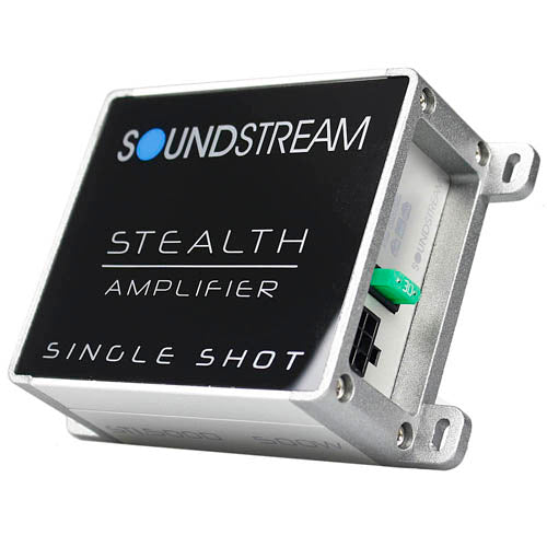 Soundstream Monoblock Amplifier Stealth 500W Max Shot Series Mini Amp ST1.500D