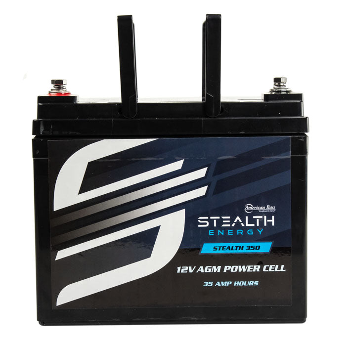 Car Audio Power Cell Battery Stealth 350 12V 35 Amp Hour Sealed American Bass