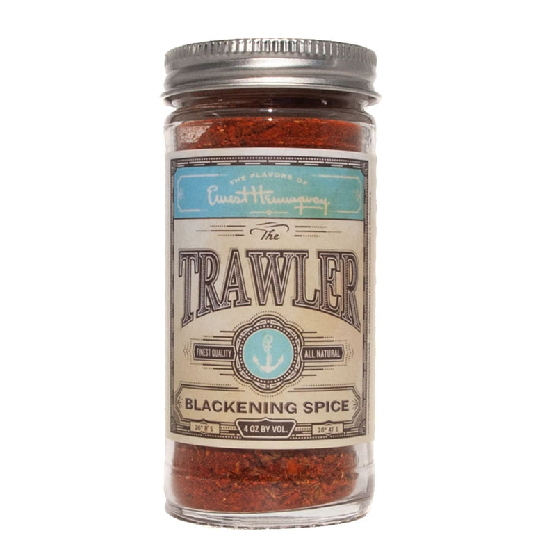 The Flavors of Ernest Hemingway The Trawler Blackening Spice 4 Oz Bottle