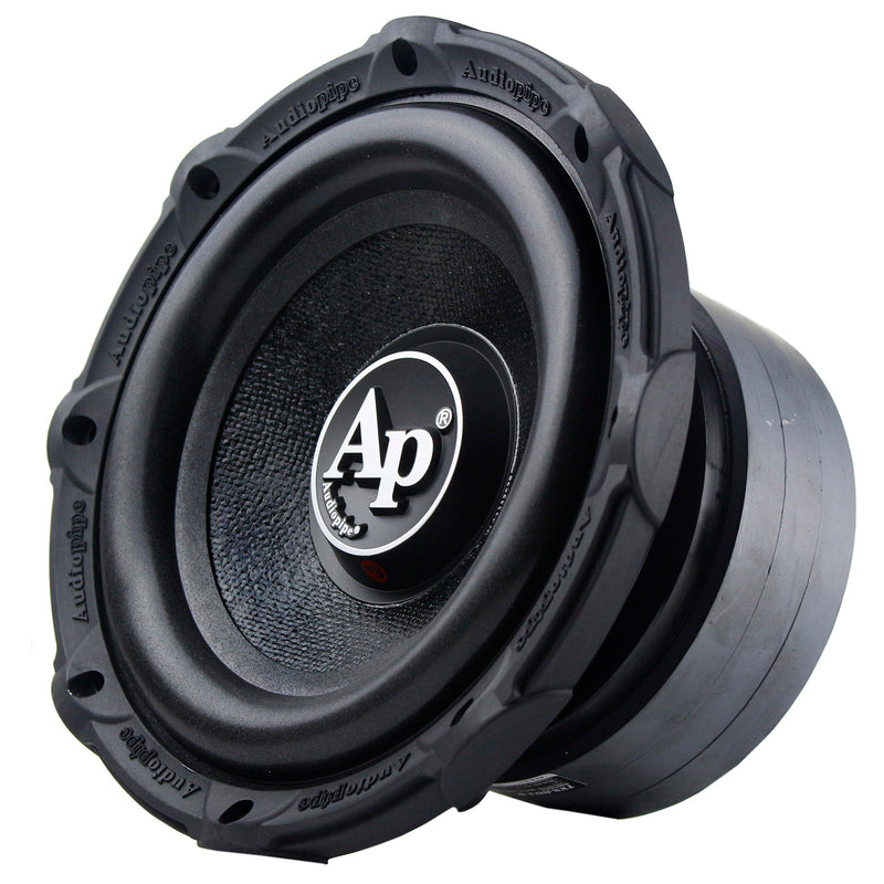 "Audiopipe 8"" Subwoofer 500 Watts Max Single 4 Ohm Triple Stack Series TXX-BD3-8"