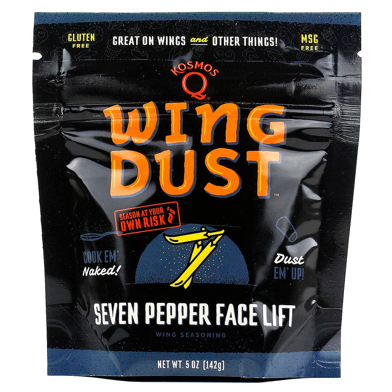 Kosmos Q Wing Dust Seven Pepper Face Lift Wing Seasoning Competition Pit Master