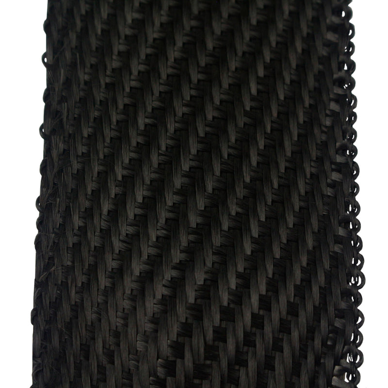 DEI Black Titanium Underhood Exhaust Wrap 2 in x 25 ft Roll Carbon Fiber 010004