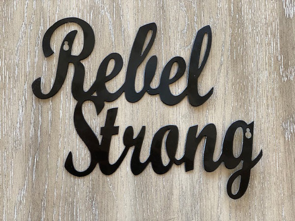 Rebel Strong Wall Art