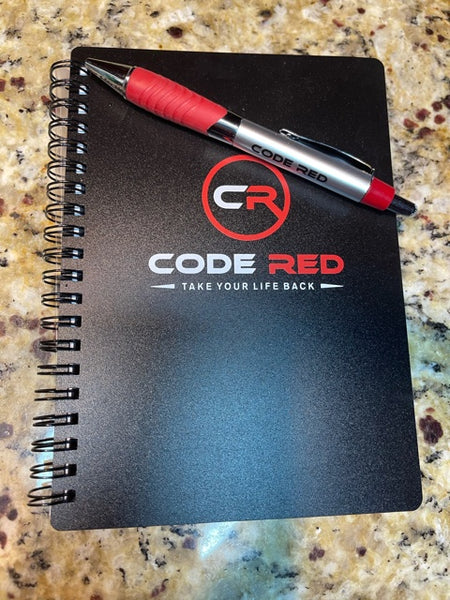 Code Red Notebook & Pen