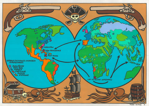 Carte de pirate