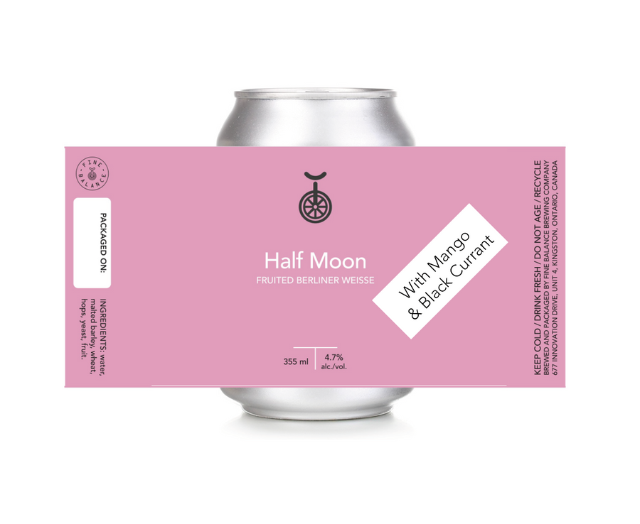 Half Moon Fruited Berliner Weisse *with Mango & Black Currant*