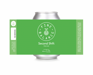 Second Shift Pale Ale