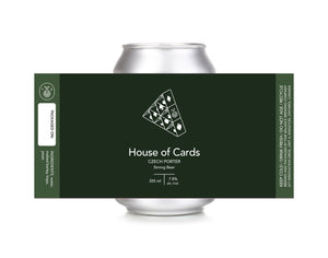 House of Cards Czech Porter