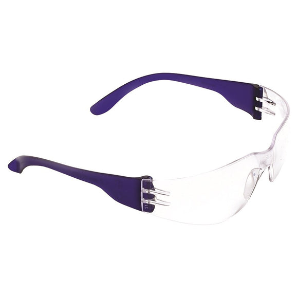Tsunami clear safety glasses, minimum order 12pc