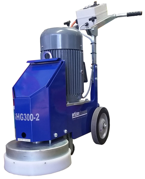 ASHG300 single head stand up grinder.