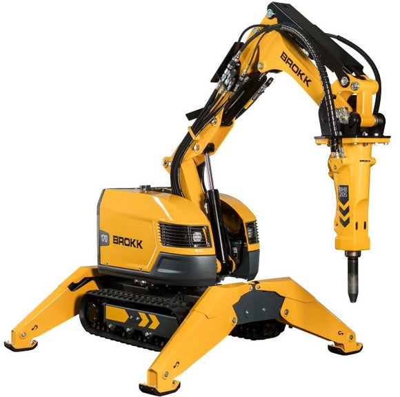 Brokk 170 demolition robot