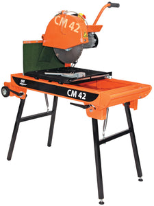 Clipper CM42 wet electric brick saw.