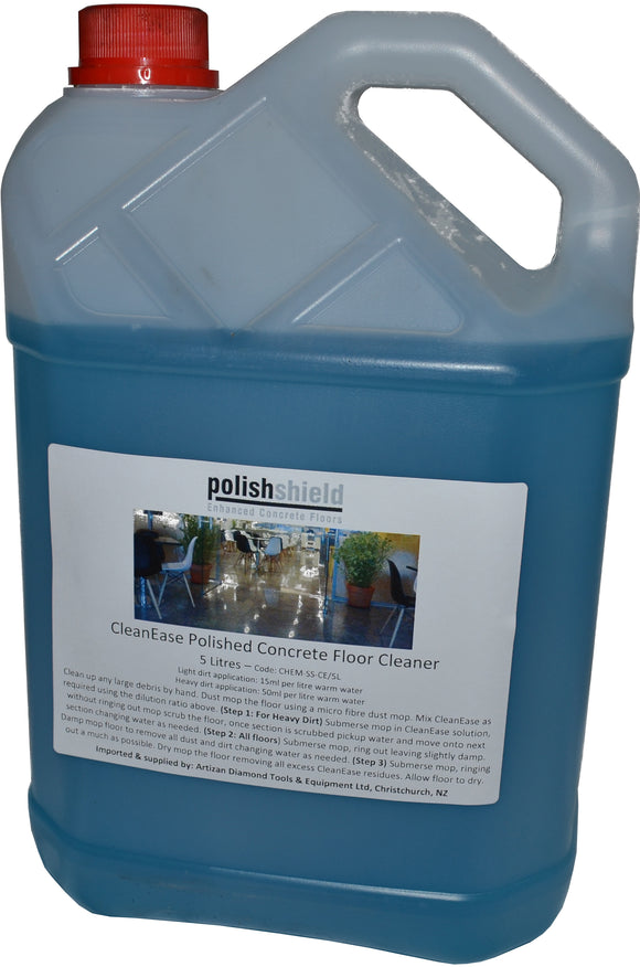 Cleanease polished concrete cleaner per 1 litre