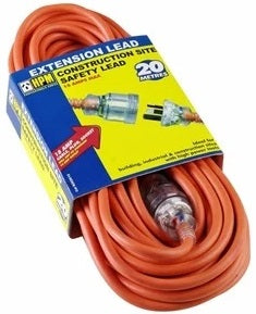HPM 20mtr 15 amp industrial extension lead