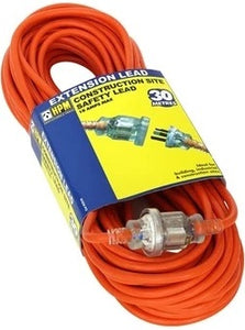 HPM 30mtr 10amp industrial extension lead