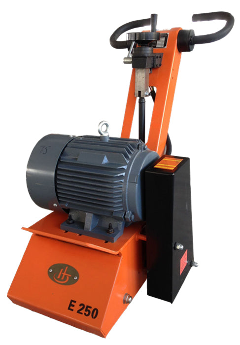 JHE250 concrete planer/scarifier, drum sold separately.