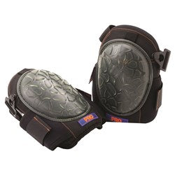 Turtle shell hard backed knee pads
