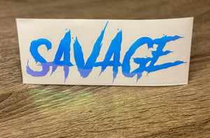 Savage Unicorn Vinyl Decal