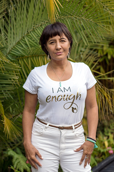 Channel your divine power with our I AM ENOUGH T-Shirt