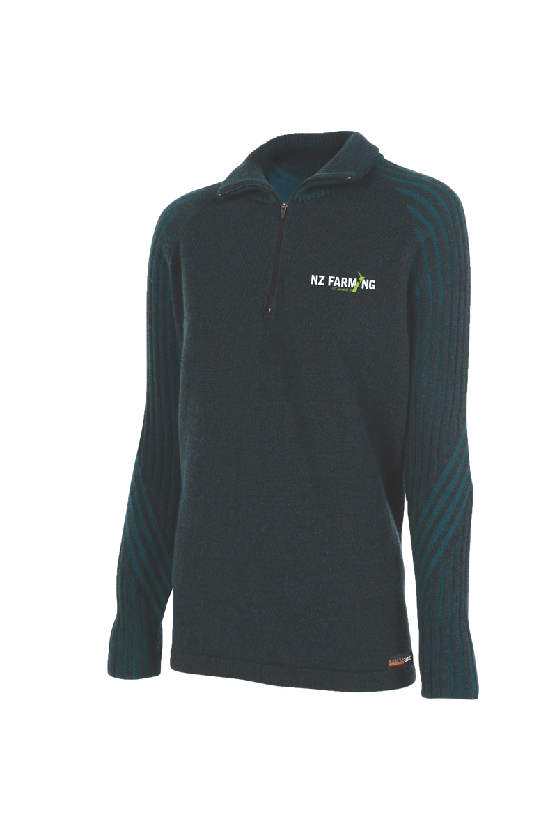 MKM Womens Technical Half Zip - NZ Farming Store