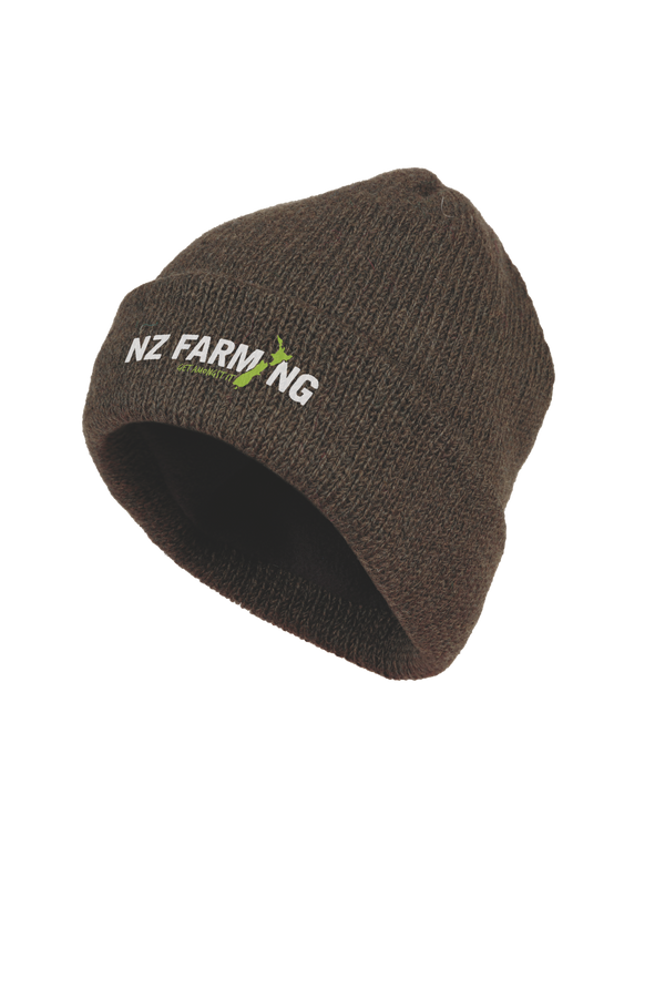 MKM Lined Wool Beanie - NZ Farming Store