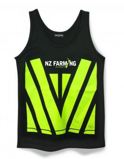 The Contractor Singlet - NZ Farming Store