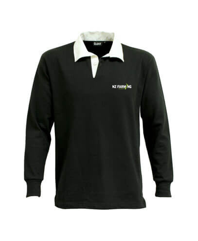 NZF Rugby Polo - NZ Farming Store