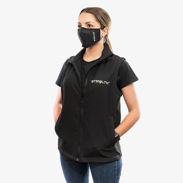 stealth gilet lifestyle perspective women