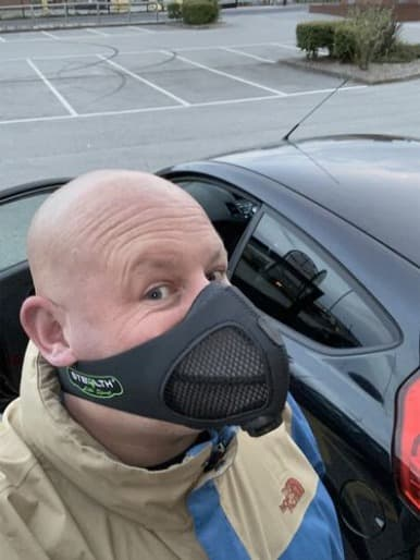 Michael N. with Stealth Lite Mask