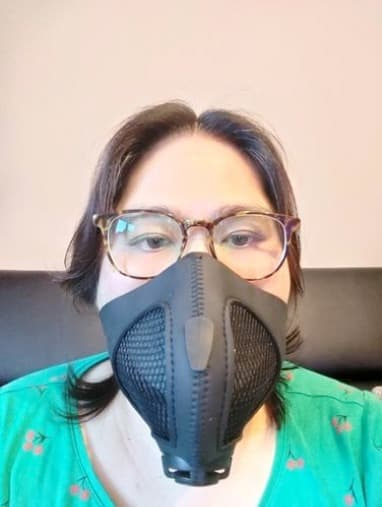 Tina Y. with Stealth Lite Mask