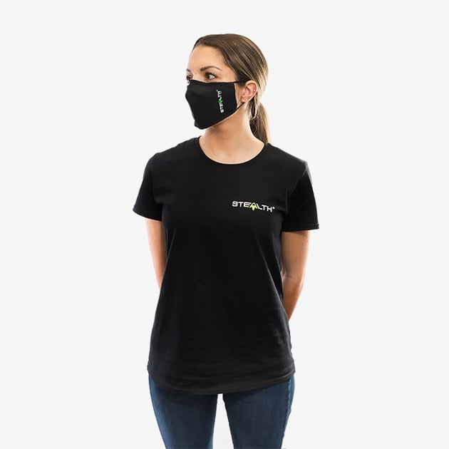 stealth tshirt lifestyle front women