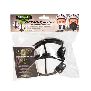 P3 face mask replacement filters city/velo/lite sport
